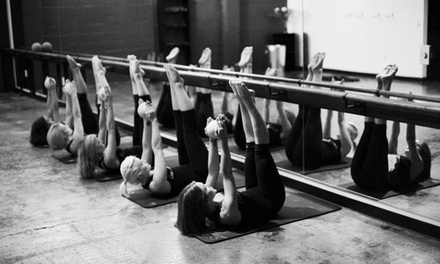 5 or 10 BarreAmped Classes at Elle Fitness (Up to 67% Off)