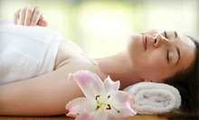 60- or 90-Minute Hot-Towel Massage with Organic Lotion and Aromatherapy at Skye Salon & Spa (Up to 57% Off)