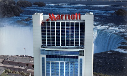 groupon daily deal - Stay with Breakfast at Marriott Gateway on the Falls in Niagara Falls, ON