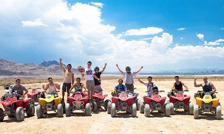 Two- or Four-Hour Nellis Dunes ATV Tour for One from Las Vegas ATV Tours (Up to 64% Off)