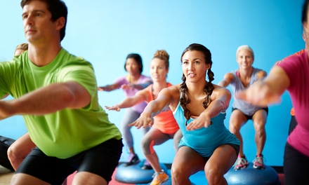 Five Fitness Classes, 14-Day Pass, or Month of Unlimited Fitness Classes at CrossTown Fitness (Up to 75% Off)