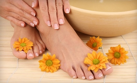 One or Three Manicures and Pedicures at Head to Toe Spa (Up to 56% Off)