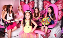 Makeover with Hairstyle, Makeup, and Manicure, or Makeover Party at Little Rockstar Children's Salon (Up to Half Off)