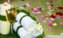 Wine-Therapy Spa Package with Facial or Massage and Wine for One or Two at Vino + Therapy Studio (Up to 72% Off)