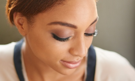 Synthetic Mink or Silk Lash Extensions  at Extend Eyelash Extensions (Up to 50% Off)
