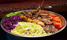 Mediterranean Food at Cafe Efendi (Half Off). Two Options Available.