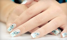 One or Three Bio Seaweed Gel Shellac Manicures with Two Designs Each at The Kandi Apple Shoppe (Up to 64% Off)