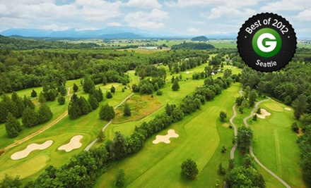 18-Hole Golf Outing with Cart and Range Balls for One, Two, or Four at Avalon Golf Links in Burlington (Up to 54% Off)