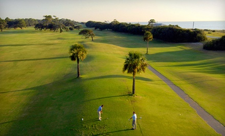 18-Hole Round of Golf for Two or Four Including Cart and Range Balls at Jekyll Island Golf Club (Up to 54% Off)