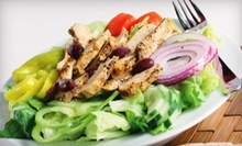 $8 for $16 Worth of Mediterranean Cuisine at Pitas Republic