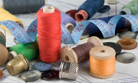 Six-Hour Sewing Class at That's Sew Samii (50% Off)