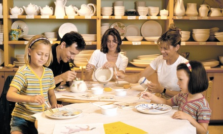 $18 for $30 To Use Toward Paint-Your-Own Pottery for Two People at Color Me Mine