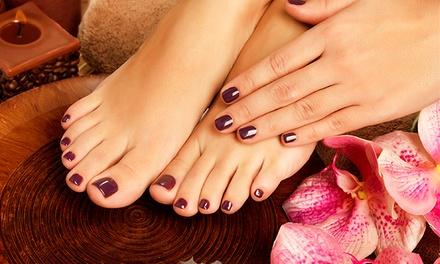 Equilibrium — Saldanha: 3 ou 5 sessões de manicure e pedicure desde 24€