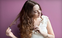 Cut and Style or Cut, Color, and Blow-Dry at Salon Advantages (Up to 58% Off)