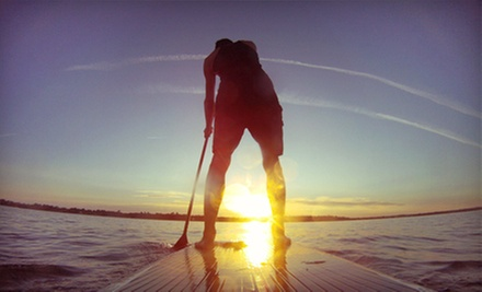 Two-Hour Standup-Paddleboard Rental or Two-Hour Lesson for One or Two at Windsurfdeal (Up to 60% Off)