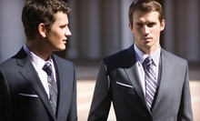 Custom Suit with Option of Two Dress Shirts and Two Ties, or Three Custom Dress Shirts from Petchburi Avenue (Half Off)