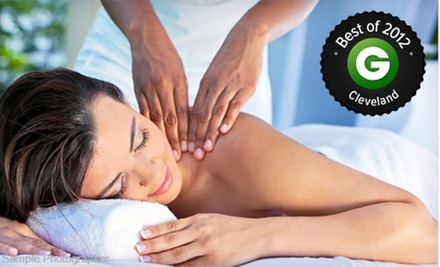 30-, 60-, or 90-Minute Therapeutic Massage at Europa by Sasha Salon &amp; Spa (Up to 54% Off)