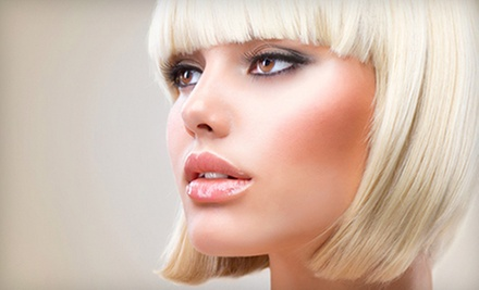 Haircut and Blow-Out Styling with Option of Partial or Full Highlights at 101 Hair & Nail Salon (Up to 63% Off)