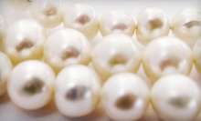 $25 for a Freshwater-Pearl Necklace at Bensons Jewelers ($50 Value)