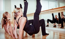 5 or 10 Barfusion Classes or 2 or 4 Group Pilates-Equipment Classes at Wellesley Body in Motion (Up to 71% Off)