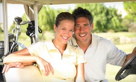 18-Hole Round of Golf for Two or Four with Carts at Sunridge Golf Club (Up to 51% Off). Three Options Available.