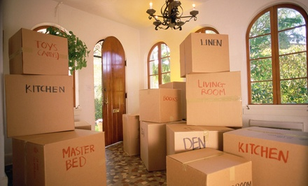 $40 for Two Movers for One Hour from Bellhops ($80 Value)