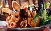 Three-Course Italian Dinner with Wine for Two or Four or Two-Course Lunch for Two at Ristorante i Ricchi (Up to 58% Off)