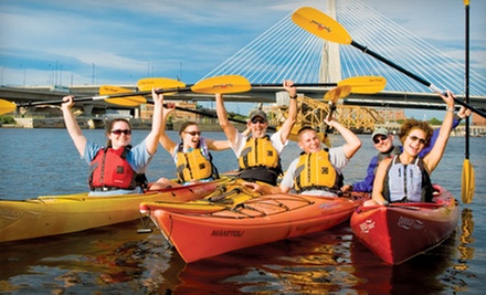 $119 for a New Member Canoe, Kayak, and Standup Paddleboard Season Pass from Charles River Canoe & Kayak ($275 Value)