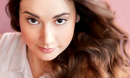 Haircut Package with Color, Hair Mask, or Full Highlights from Charlotte's Hair Designs at Blown Dry Bar (Up to 62% Off)