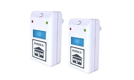 Pack de 2 módulos anti-insetos Riddex por 19,90€