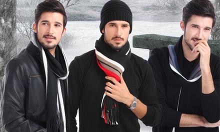 Cachecol de homem em lã por 12,99€ ou dois por 22,99€