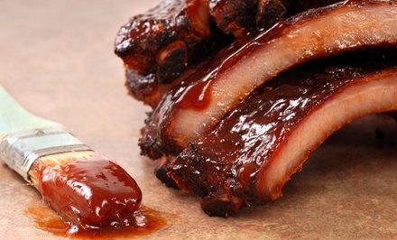Barbecue at Smoken Bones Cookshack (Up to 50% Off).