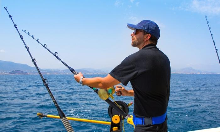 Full day fishing trip pastime princess groupon for Groupon deep sea fishing