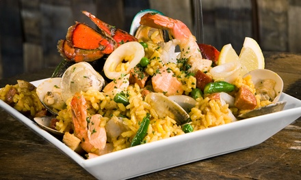 $25 for $40 or $45 for $80 Worth of Tapas and Drinks at La Tasca Tapas Restaurant