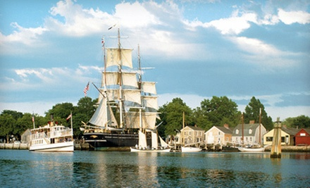 Visit for Two or Four to Mystic Seaport: The Museum of America and the Sea (Half Off)