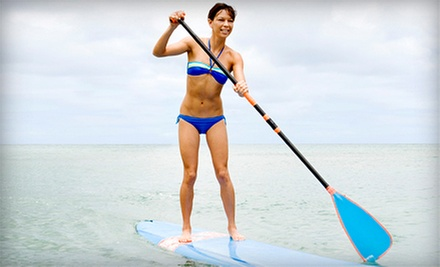 Two-Hour Standup-Paddleboard Rental for One or Two with Life Jackets from Paddleboard in Utah (Up to 60% Off)