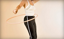 Four Weeks of Hula-Hoop Fitness Classes for One or Two at Happy Hoops (Up to 58% Off)