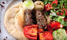 Mediterranean Buffet with Drinks for Two or Four at Al Sultan Grill and Bakery (Up to 55% Off)