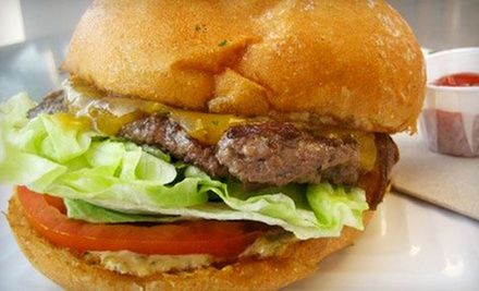 Specialty Burgers at Oddfellow's Burger Kitchen (Half Off). Two Options Available.
