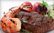 Steaks and Seafood for Two or Four at Timbers Steakhouse and Seafood (Half Off)