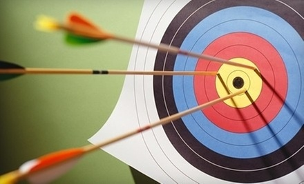 $32 for a 75-Minute Archery Lesson for Two with Gear Rental and Personal Instruction at Jeffery Archery ($64.58 Value)