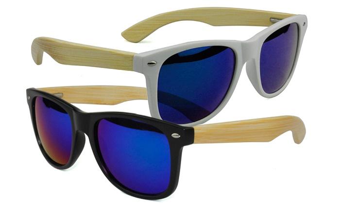 Óculos de sol de madeira em 10 modelos diferentes por 19,99€