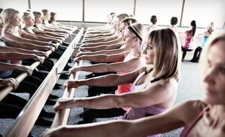 5 or 10 Classes at Pure Barre (Up to 54% Off)