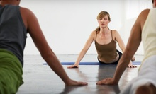 10 or 20 Yoga Classes at the Yoga Mat (Up to 71% Off)