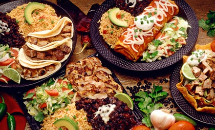 Mexican Lunch or Dinner for Two or $20 for $40 Worth of Mexican Food and Drinks at Space Taco