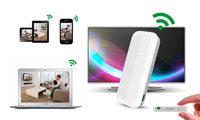 Adaptador HDMI para transmissão de conteúdos em TV por 19,99€