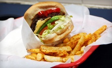 Burger Meal with Fries and Drinks for Two, or $10 for $20 Worth of Diner Food at Shelby Shack