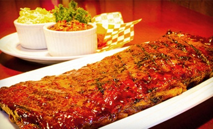 $15 for $30 Worth of Barbecue and Drinks at Memphis Smokehouse