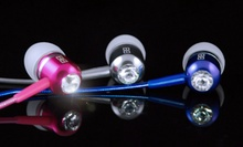 $24.99 for BassBuds Earbuds with Swarovski Elements ($85 List Price). 11 Colors Available. Free Shipping and Returns.