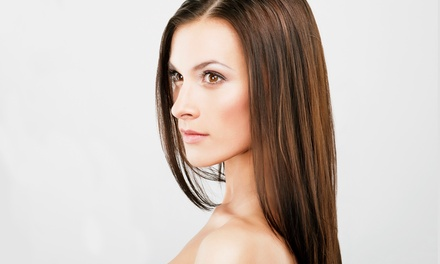 One PureRenewal or Kerasilk Keratin Hair Treatment at S.A.F.E. Salon (Up to 49% Off)